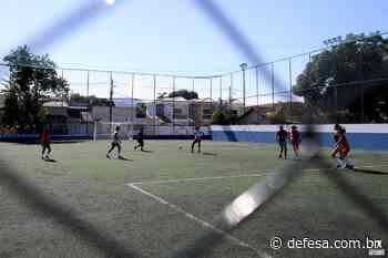 Campo de grama sintética é reaberto em Casimiro de Abreu – Casimiro de Abreu - Defesa - Agência de Notícias