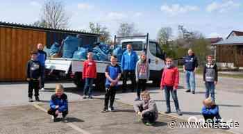 Bei Rama-dama-Aktion des FV Vilseck kommen 22 Säcke Müll zusammen - Onetz.de