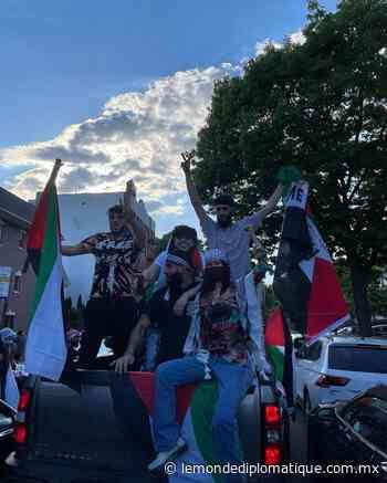 En la calle de Nueva York, Bella Hadid iza la bandera palestina - Le Monde Diplomatique Mexico