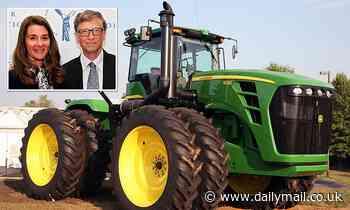 Bill Gates transfers $850 million in Deere shares to Melinda