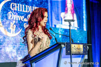 A Record-setting $6.5 Million Raised in One Night as Dr. Stacie J. Stephenson is Honored as Childhelp's 2021 Woman of the World