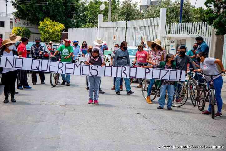 ESCALA EL CONFLICTO POR EL AGUA EN TLAXCALANCINGO - Puebla - - La Jornada de Oriente