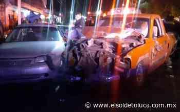 Accidente en Zinacatepec deja varios heridos - El Sol de Toluca