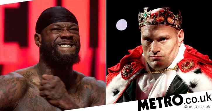Tyson Fury sends message to 'joker' Deontay Wilder as Anthony Joshua showdown is thrown into doubt