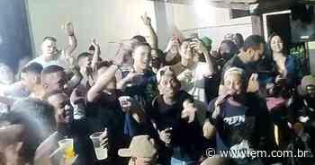 Pagode, bebida e aglomeração marcaram o sábado em Lavras; veja vídeos - Estado de Minas