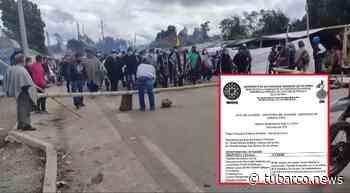 La 'crisis política' con las comunidades indígenas en Ipiales, el paso fronterizo más importante entre Ecuador y Colombia - TuBarco
