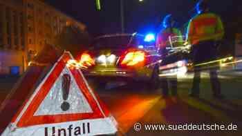 Starkregen verursacht mehrere Autobahnunfälle - Süddeutsche Zeitung