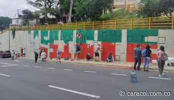 Pintan murales en Bucaramanga y Floridablanca - Caracol Radio