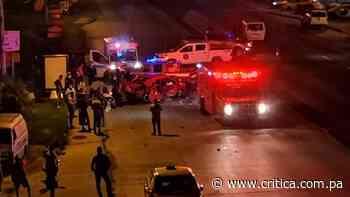 Adolescente se sale de automóvil y muere tras vuelco en Arraiján; hay 3 heridos - Crítica Panamá