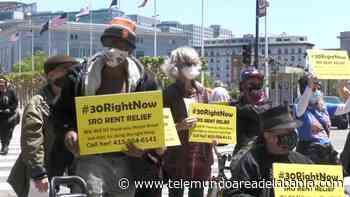 Familias piden reducción del cobro de la renta en San Francisco - Telemundo Area de la Bahia