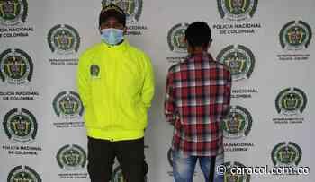Detenido en Chinchiná por ofrecerle dinero a Policías - Caracol Radio