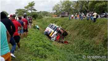 Se volcó bus de Sotracor que cubría la ruta Planeta Rica – Montería - LA RAZÓN.CO
