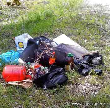 Zum wiederholten Mal illegale Müllablagerungen: Der Ärger wächst und ...   SÜDKURIER Online - SÜDKURIER Online
