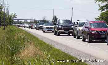 Sharp increase of GTA traffic entering Niagara-on-the-Lake during provincial stay-at-home order - Niagarathisweek.com