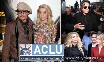 Johnny Depp sues ACLU on to see if ex-wife Amber Heard gave $7m divorce settlement