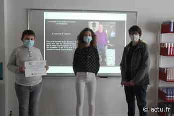 Friville-Escarbotin : Deux élèves du collège en finale d'un concours national de reportage - actu.fr