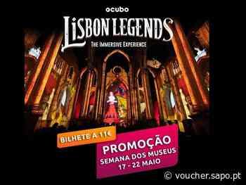 LISBON LEGENDS: Espetáculo Imersivo - Ruínas do Carmo - Promoção 17 a 22 Maio - Bilhete único 11€ - Diário Digital