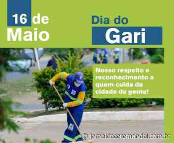 16 de maio: Dia do Gari – Jornal de Coromandel - Jornal de Coromandel