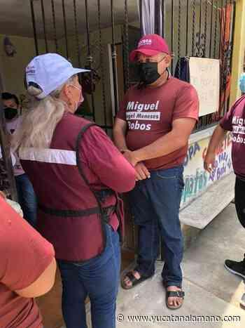 Candidatos de Morena protagonizan pleito en Tixkokob en plena campaña - Yucatán a la mano