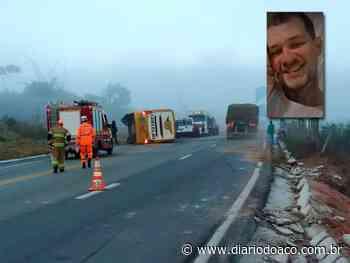 Sepultado em Governador Valadares corpo de vítima de acidente na BR-381 - Jornal Diário do Aço