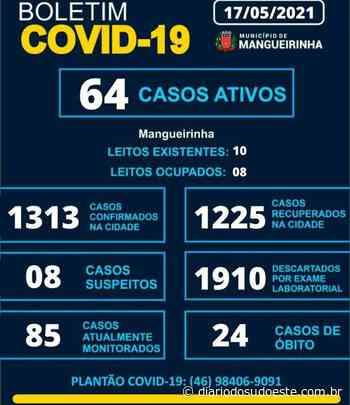 Mangueirinha confirma 22 casos de coronavírus em 72h - Diário do Sudoeste