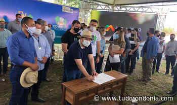 Presidente Alex Redano participa do lançamento do Tchau Poeira em Pimenta Bueno - Tudo Rondônia