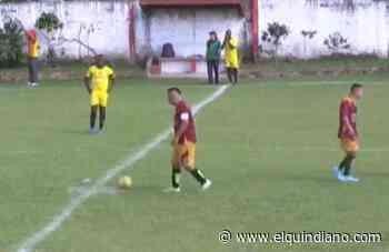Nueva derrota de Tebaida FC en la copa Élite de fútbol - El Quindiano S.A.S.