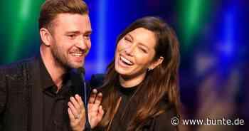Jessica Biel & Justin Timberlake: Endlich neue Aufnahmen von Sohn Silas – und die sind zum Schießen! - BUNTE.de