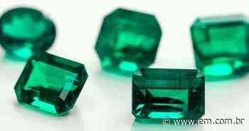 As fascinantes esmeraldas serão tema de um debate on-line, na quinta-feira - Estado de Minas