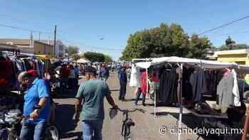 Reubicarán a tiangueros en Huatabampo - Diario del Yaqui