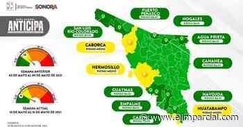 Hermosillo, Caborca y Huatabampo siguen en amarillo dentro de Mapa Sonora Anticipa - ELIMPARCIAL.COM