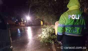 Atienden derrumbes activos en Anserma provocados por lluvias torrenciales - Caracol Radio