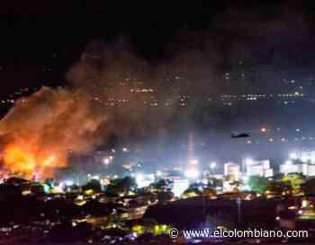 Tensión en Yumbo: explosiones, disturbios y más de 30 heridos - El Colombiano