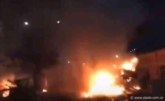 Explosión cerca a sede de Ecopetrol generó alerta en Yumbo - El País