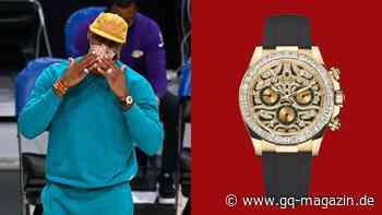 "Rolex: LeBron James zeigt seine Daytona ""Eye of the Tiger"" - GQ Germany"