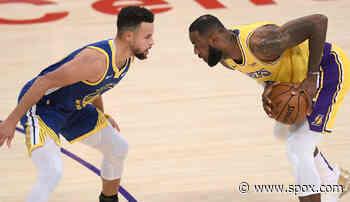 """NBA-News: LeBron James schwärmt von Warriors-Star Stephen Curry vor Play-In: """"Wir spielen gegen den MVP"""" - SPOX.com"""