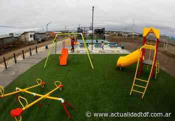 Quedó habilitado un nuevo playón deportivo en el barrio Argentino - Actualidad TDF