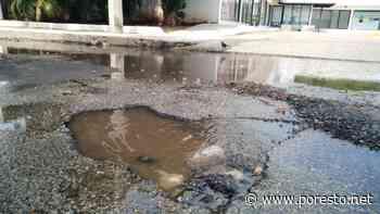 Reportan fuga de agua en la colonia Buenavista - PorEsto