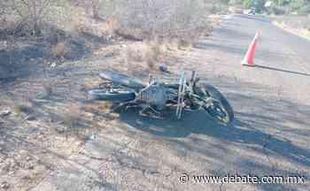Muere motociclista en accidente en poblado Buenavista, El Fuerte - Debate