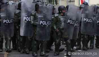 El ESMAD no ha intervenido en protestas de Tunja: Policía Metropolitana - Caracol Radio
