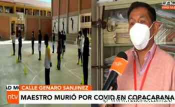 Maestro fallece por coronavirus en Copacabana - Red Uno