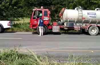 Calarcá logró pasar dos carrotanques de químicos para potabilizar el agua - El Quindiano S.A.S.