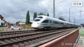 Hagenow – Ludwigslust: Strecke Hamburg-Berlin wird für drei Monate gesperrt   svz.de - svz – Schweriner Volkszeitung