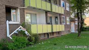 Grevenbroich: Fettexplosion reißt Küchenfenster aus Wohnhaus | Regional - BILD