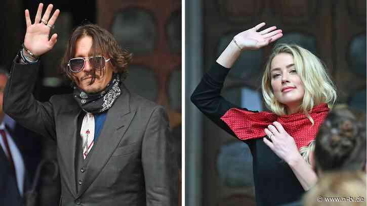Hat Amber Heard alles erfunden?: Rosenkrieg mit Johnny Depp bleibt schmutzig - n-tv NACHRICHTEN