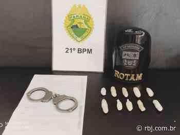 Jovem que viajava do Mato Grosso Sul para Chopinzinho é preso com cocaína - RBJ