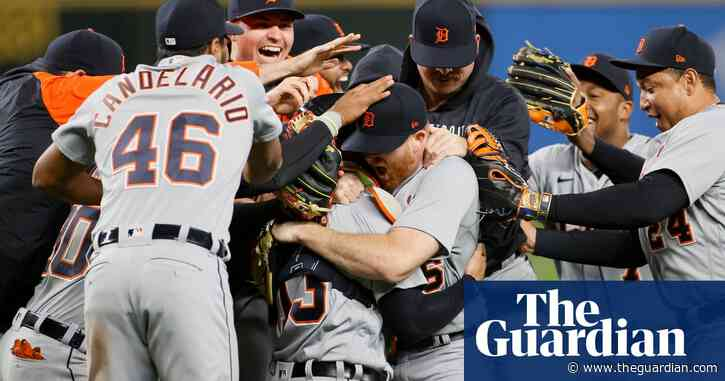 Tigers' Spencer Turnbull shuts down Seattle for fifth no-hitter of MLB season