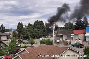 UPDATE: Fire crews attend structure fire in Campbellton area – Campbell River Mirror - Campbell River Mirror