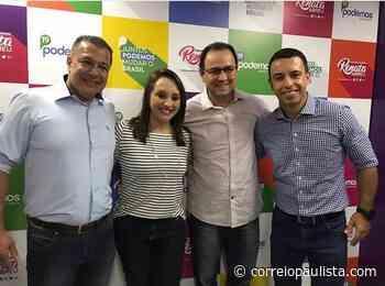 Com apoio de Lins e Renata Abreu, Gelso Lima assume presidência do Podemos Osasco - Correio Paulista