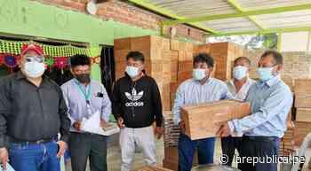 Sechura: apicultores reciben ayuda para reactivar sus actividades   LRND - LaRepública.pe
